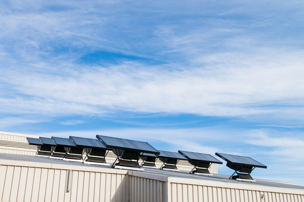 Water panels at Muswellbrook.