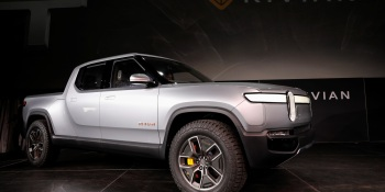 Rivian introduces R1T all-electric pickup truck at Los Angeles Auto Show