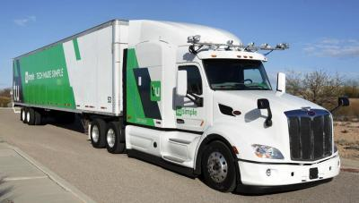 Driverless truck startup TuSimple teams up with the USPS to haul