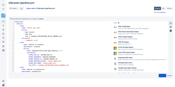 Bitbucket makes continuous delivery feature Pipes broadly available