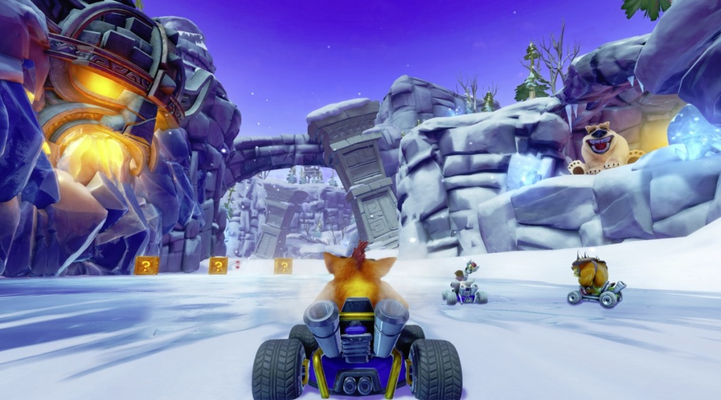 Image result for crash team racing nitro fueled
