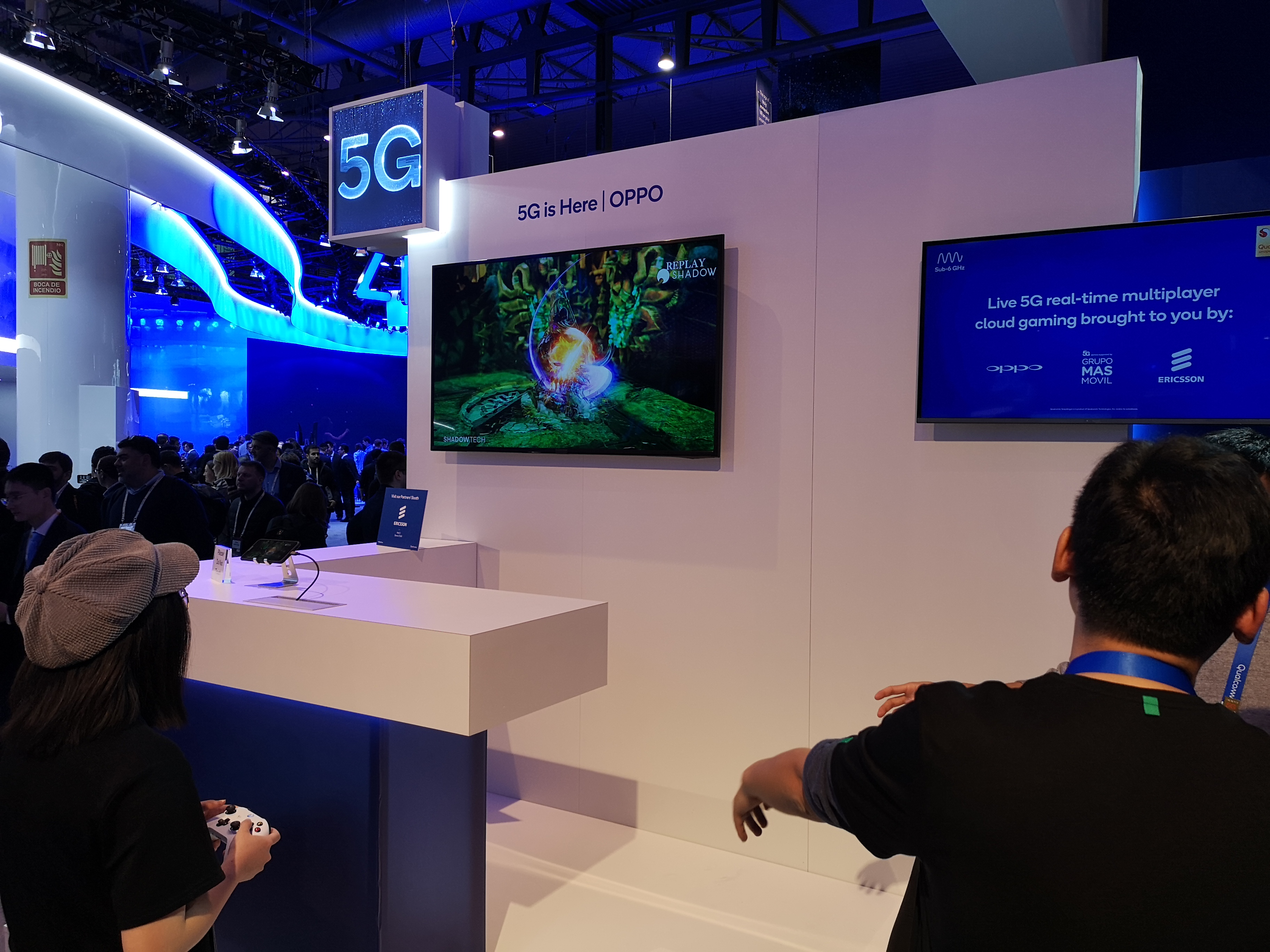 4c8112159cf8 VR and cloud gaming frenzy seizes MWC as 5G hype builds