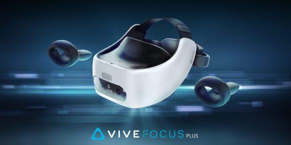 HTC's Vive Focus Plus.