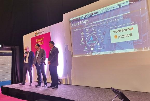 TomTom, Moovit und Microsoft verkünden Partnerschaft.