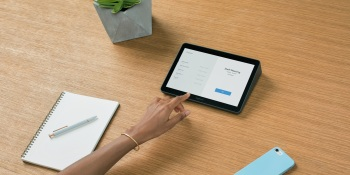 Logitech's Tap is a 10.1-inch touchscreen controller for meeting rooms