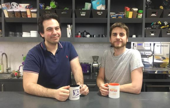 Madumbo cofounders Gabriel-James Safar (CEO) and Sébastien Deprez (CTO)