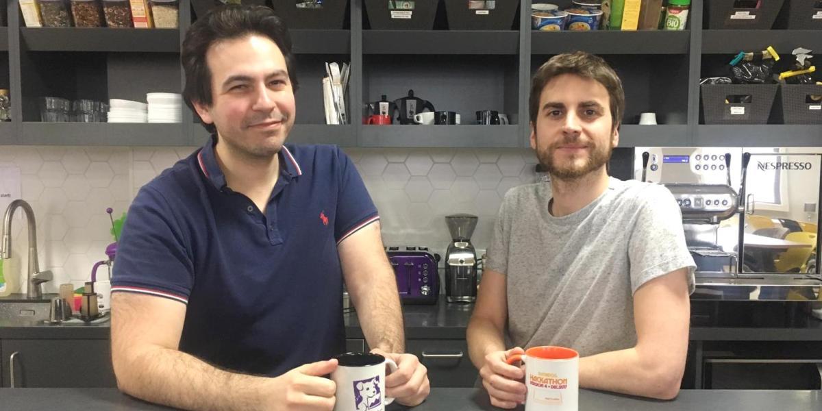 Madumbo cofounders Gabriel-James Safar (CEO) and Sébastien Deprez (CTO)