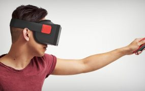A mockup of what Nintendo VR could look like.