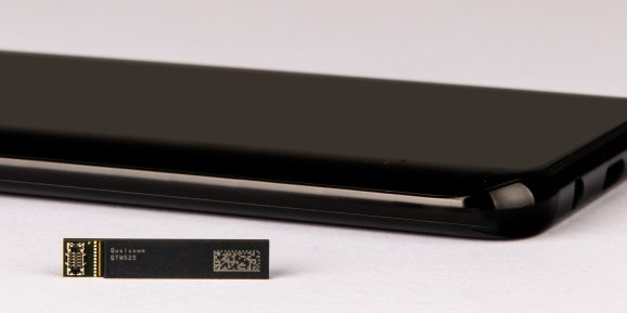 Qualcomm's new QTM525 5G millimeter wave antenna can fit inside slim phones with under 8mm thickness.
