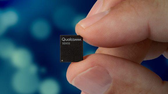 Qualcomm's Snapdragon X55 5G modem.