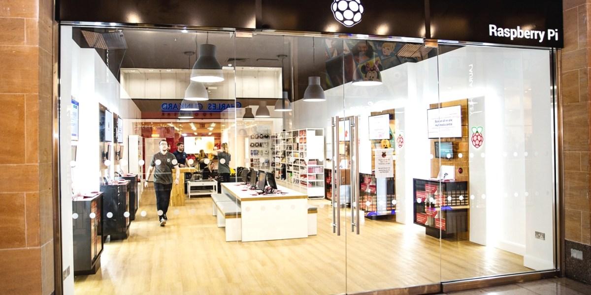 Raspberry Pi retail store