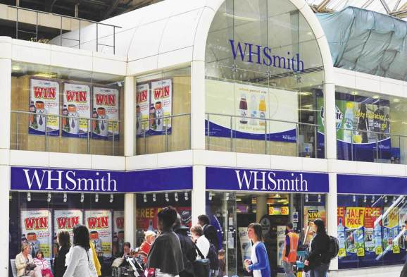 WH Smith retail store