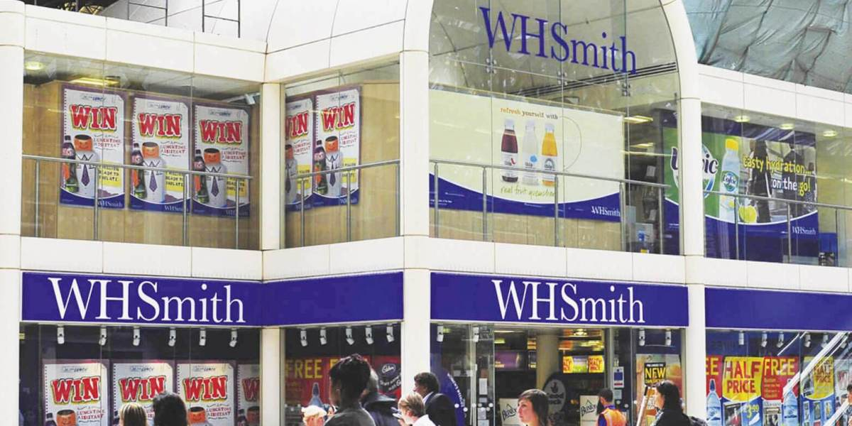 WH Smith retail store