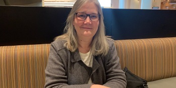Amy Hennig at the DICE Summit in Las Vegas.