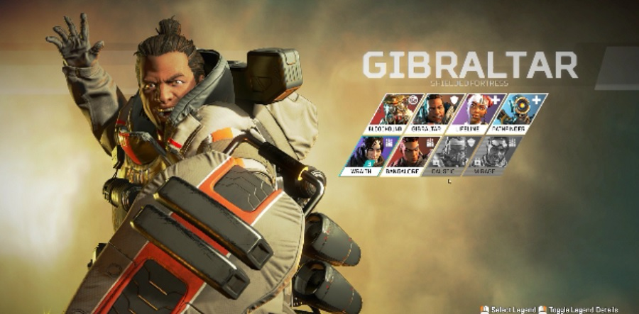 Gibraltar is the heavy tank of Apex Legends.