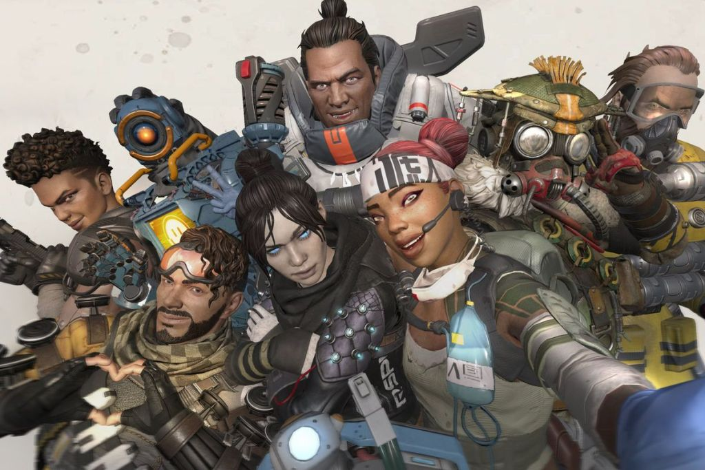 Apex Legends heroes (not pictured: their 25 million friends)