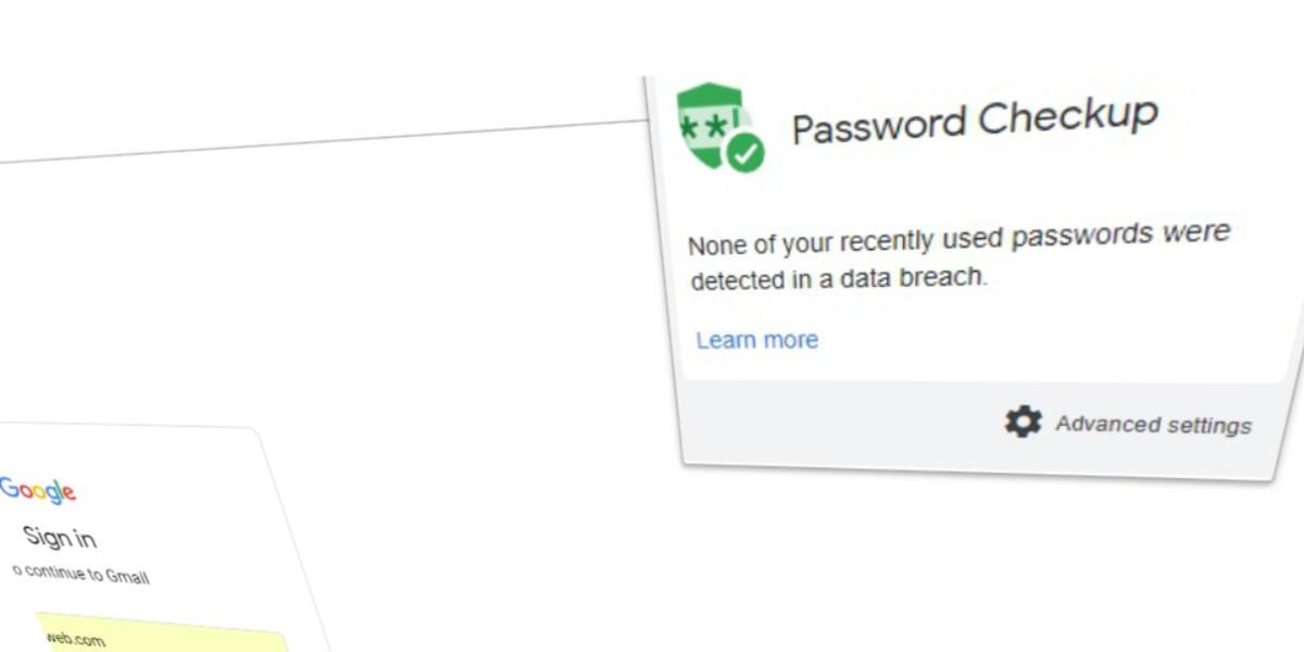 Google Password Checkup