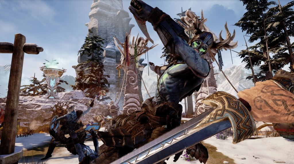 Asgard's Wrath is coming to the Oculus Rift.