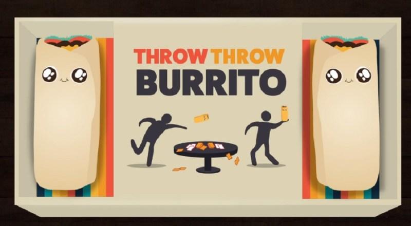 Бросить бросить буррито