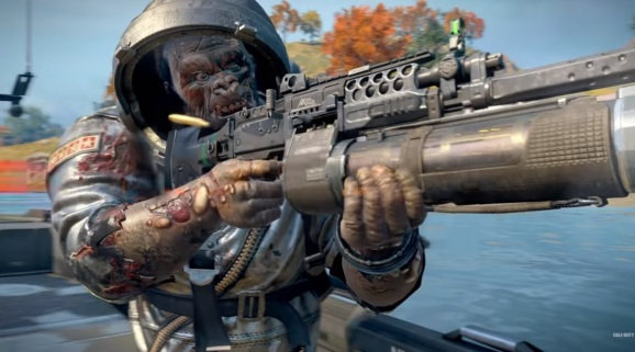 Cosmic Silverback is a new character in Call of Duty: Black Ops 4.