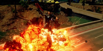 Crackdown 3 hands-on video — an action-packed start for a comic book-style open world