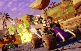 Crash Team Racing: Nitro-Fueled is coming in June, 2019.