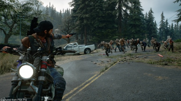 Days Gone is Bend Studio's take on the post apocalyptic zombie genre.