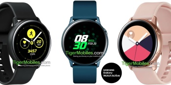 Samsung Galaxy Watch Active leak shows a Gear Sport killer with a small battery