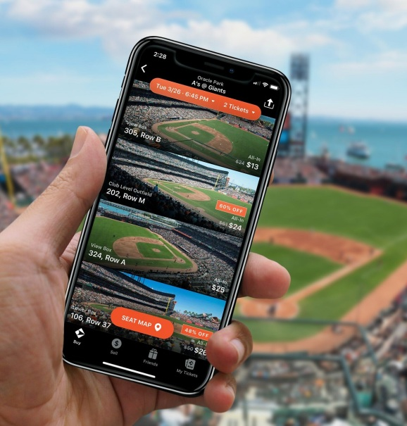 Gametime's LastCall lets you buy cheap tickets once sports events or concerts start