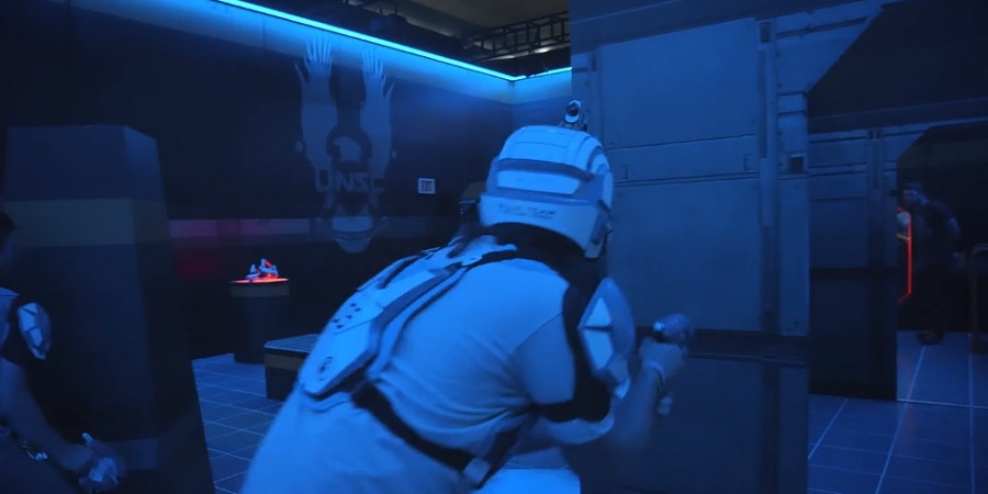 Halo: Outpost Discovery will have a laser tag arena.