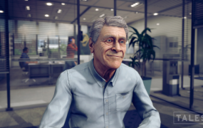 Talespin's 'virtual human,' Barry.