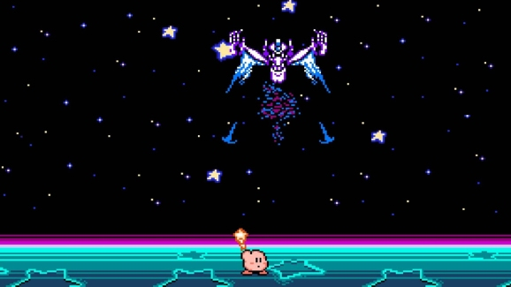 Kirby's Adventure's final boss.