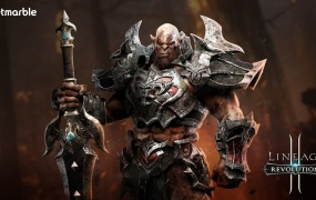 A friendly Orc in Lineage 2: Revolution.