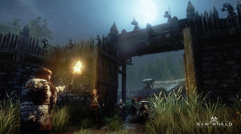 Amazon's New World -- hands-on in a massive sandbox MMO