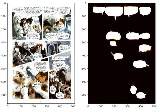 AI comic panel