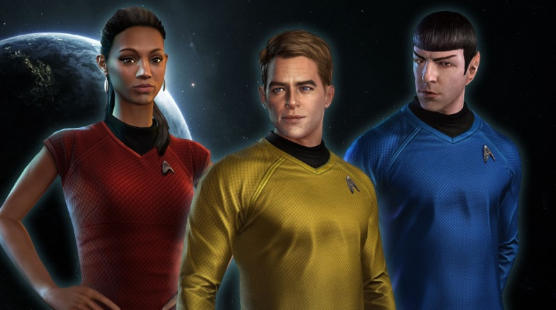 Star Trek: Fleet Command riffs off the most recent Star Trek film characters.