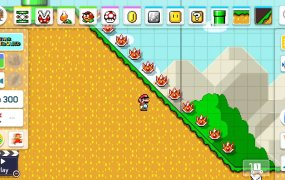 Super Mario Marker 2 introduces slopes!