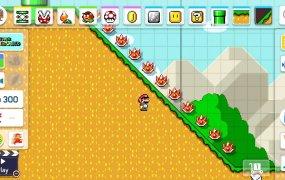 Super Mario Marker 2 introduces slopes!