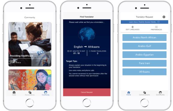 Tarjimly launches translation app geared toward refugees