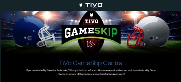 TiVo's GameSkip lets you skip the game and watch the commericals.