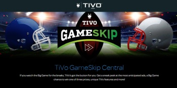 TiVo lets you skip the Super Bowl and watch the commercials
