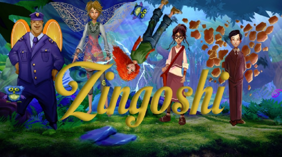 Zingoshi is an augmented reality game for girls.