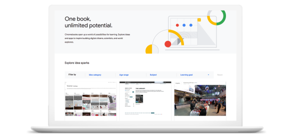Google announces Chromebook App Hub to help teachers find apps and activities for their classrooms