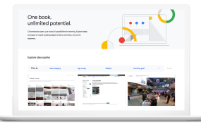 Chromebook with App Hub