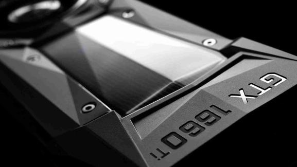 Nvidia GeForce GTX 1660 Ti graphics card.