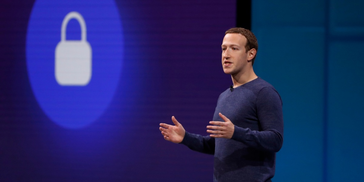 Facebook CEO Mark Zuckerberg speaks at Facebook Inc's annual F8 developers conference