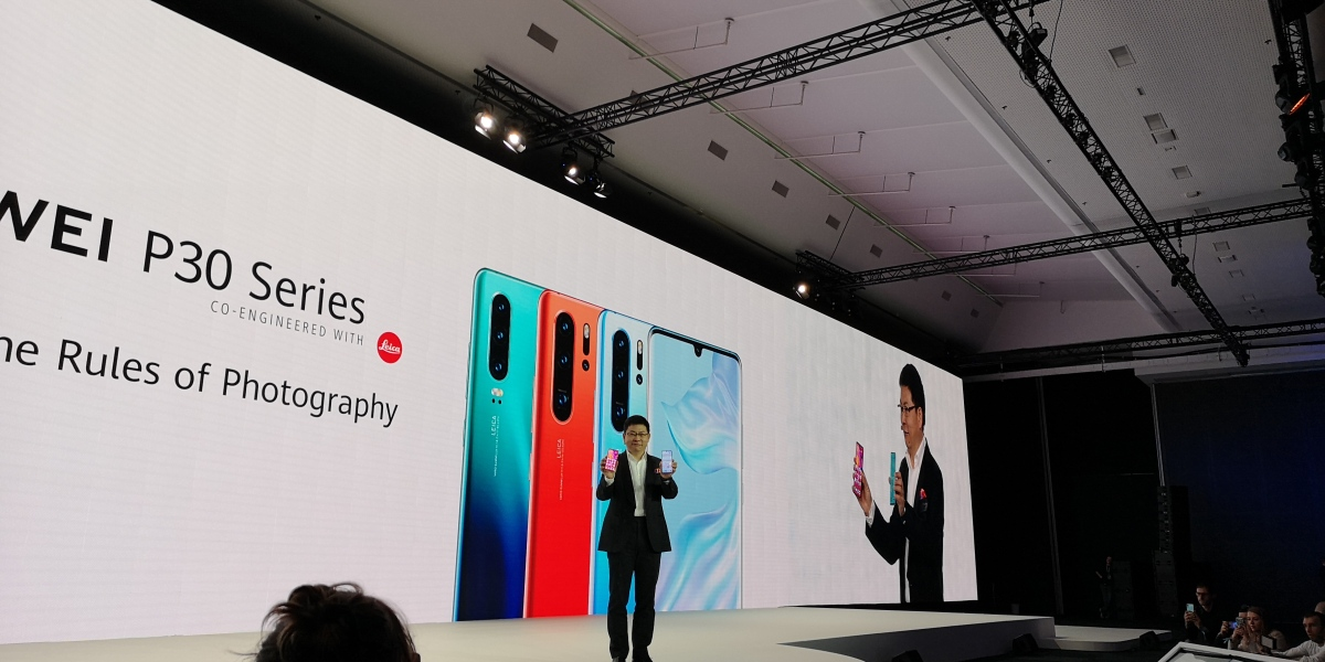 Huawei consumer products CEO Richard Yu