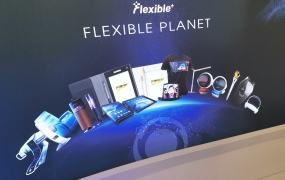 Flexible future: Malleable displays on show at MWC 2019