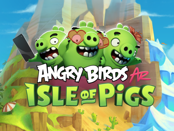 Angry Birds AR: Isle of Pigs.