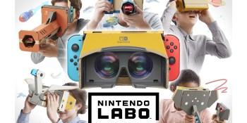 Super Mario Odyssey, Zelda: Breath of the Wild will work with Nintendo Labo VR